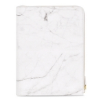 Zipper Marble Meeting Folder