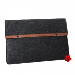 Felt snap fastener iPad envelope bag