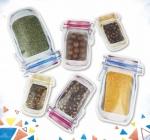 磨砂透明自封食品袋