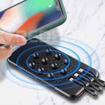 Suction cup wireless mobile charge