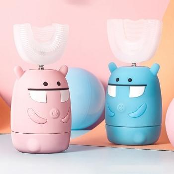 兒童智能U型電動牙刷