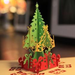 立體聖誕樹賀卡