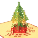 3D Christmas Tree Greeting Card