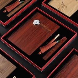 木質筆記本商務套裝
