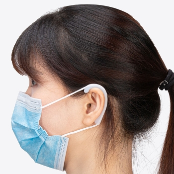 Ear protected soft rubber pad