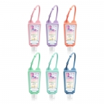 Silicone hand sanitizer bottle set