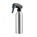 Travel use aluminum spray bottle