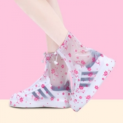 高檔PVC摺疊防雨鞋套