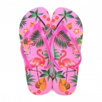 Flexible and comfortable women's flip-flops