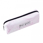 PU Marble Pattern Octagonal Pen Bag