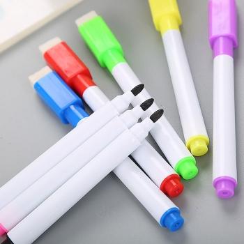 彩色帶刷白板筆