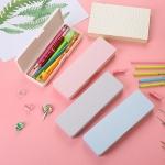 純色磨砂文具盒