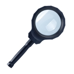 Rechargeable Handheld LED Magnifier