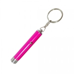 Projection Flashlight Keychain