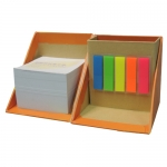 Box-shaped Memo Pad
