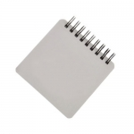 Pocket spiral memo notebook