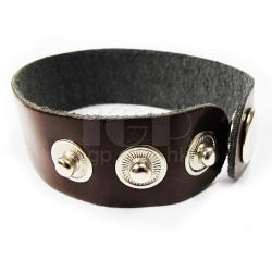 Leather hand belt