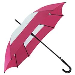 創意雙色方形直傘