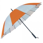 16-bone Mixed Color Business Straight Umbrella
