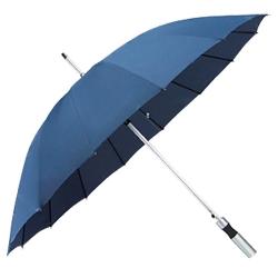 16骨單色直柄直傘