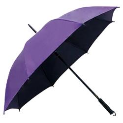 黑膠內層直桿傘