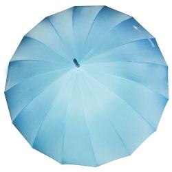 16股縮骨廣告傘