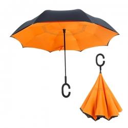 C型柄直桿反向傘