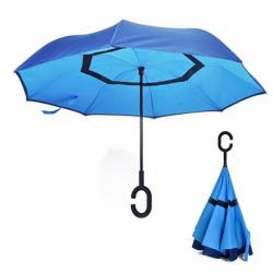 C-shaped Handle Reverse Umbrella