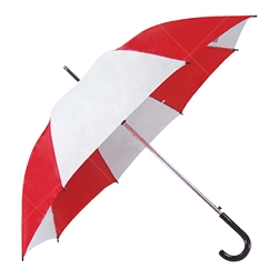 Mixed Color Straight Rod Advertising Umbrella