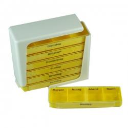 塑料七天藥丸盒