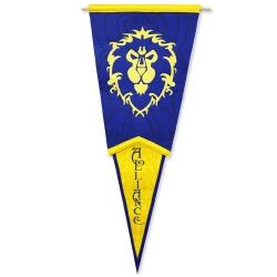 部落聯盟三角倒掛旗幟