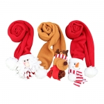 Christmas scarf for decoration
