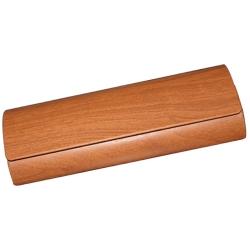 文藝復古木質眼鏡盒