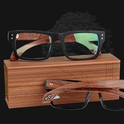復古木質眼鏡盒