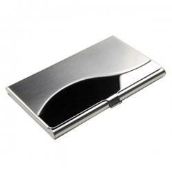 曲面金屬名片盒