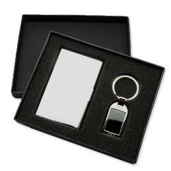名片盒+鑰匙扣商務套裝