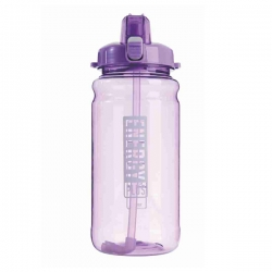 Large Capacity Bottle with Straw