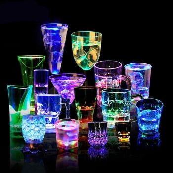 LED感應發光杯