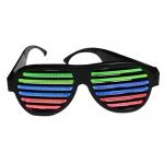 LED發光聲控眼鏡