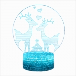 3D acrylic LED night light