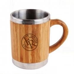 竹制手柄杯