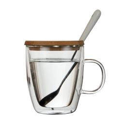 防燙雙層玻璃杯