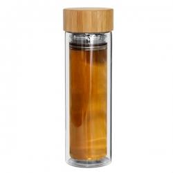 竹蓋玻璃杯