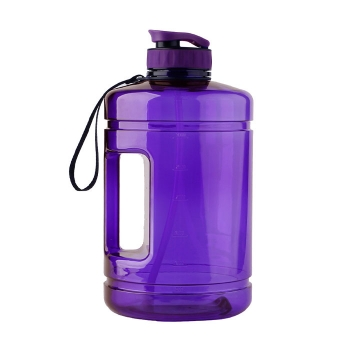 High-capacity outdoor sports bottle