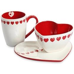 心形陶瓷杯