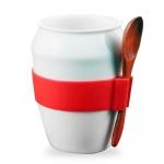 桶形陶瓷杯