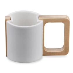 木架陶瓷杯