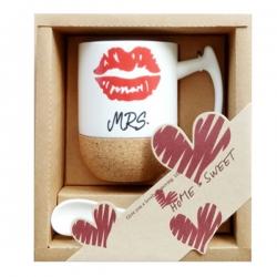 Cork Ceramic Cup Set