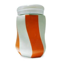 Striped Ceramic Mug