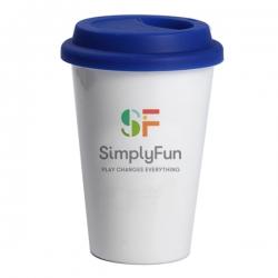 Single Layer Ceramic Coffee Cup